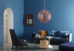 Blått är den populäraste färgen av alla kulörer. Kanske har det att göra med att blått är en lugnande färg som får oss att varva ner. FOTO: Jotun