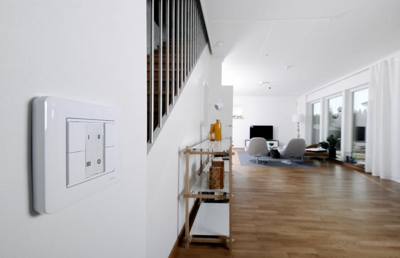 Smart värmecentral i smart hus