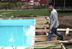 Bygga egen pool
