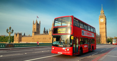 London, buss, Big Ben