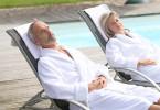 Spabad för pensionärer