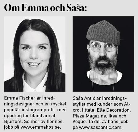 Om Emma och Saša.