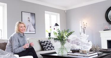 Idag driver hon den mycket populära inredningsbloggen Add Simplicity för Sköna Hem. Foto: Camilla Bengtsson/PRAB.