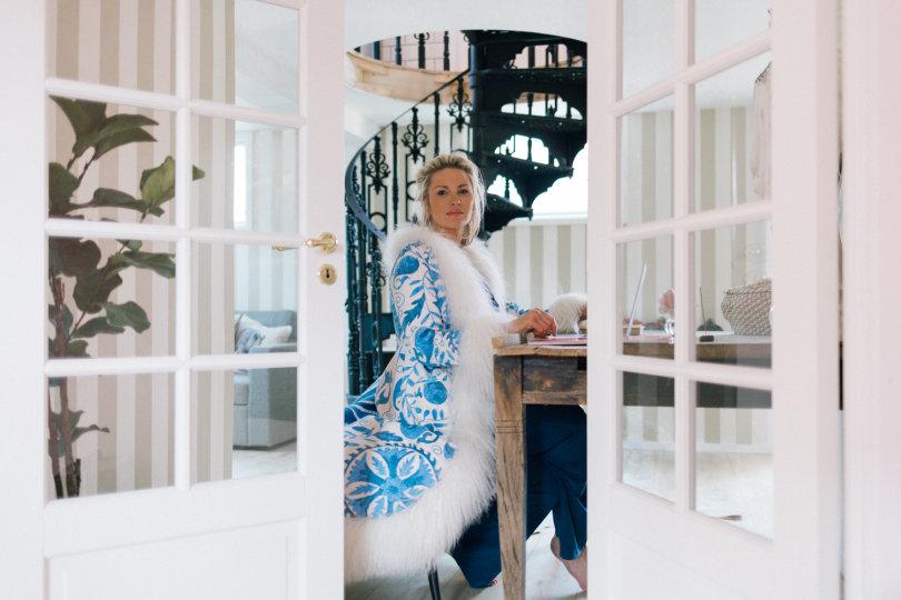 Carolina Gynning. Foto Angelica Swanström.