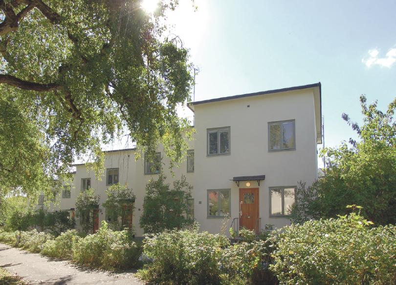 Folkhem och modernism. FOTO: Ålstens fastighetsbyrå.