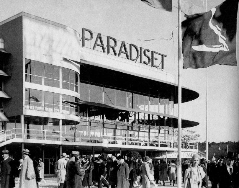 Stockholm Paradiset, 1930. Fria bilder från Wikipedia