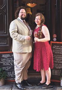Edward, tillsammans med frun Gunilla. Foto: Eva Hildén Smith