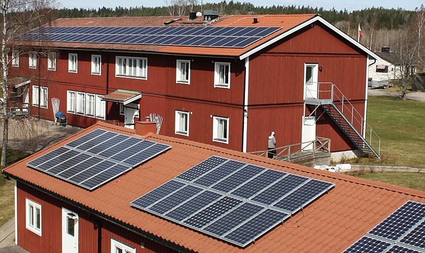 Solceller Foto: Foto: Svensksolenergi.se