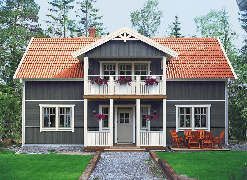 färg på hus