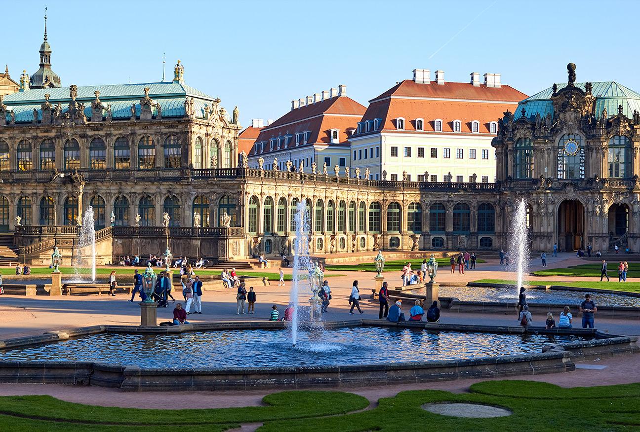 Dresden – en blandning av gammalt och nytt