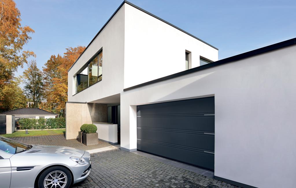 Matcha villan med ny garageport